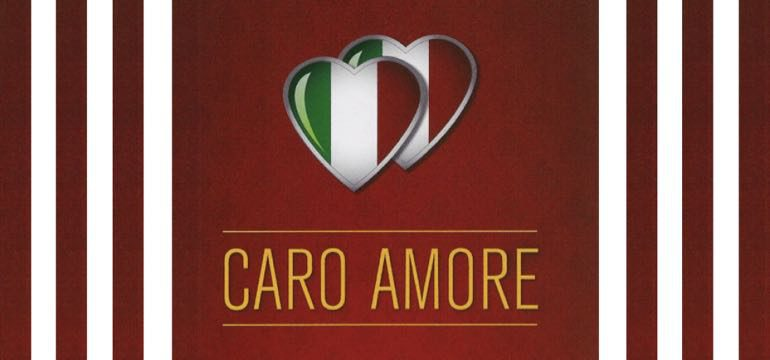 Webside for Caro Amore Pizza