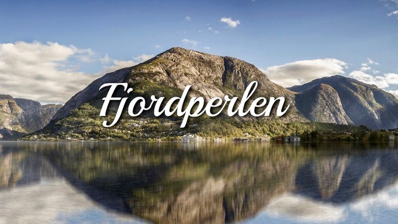 Webside for Fjordperlen Hytteutleige